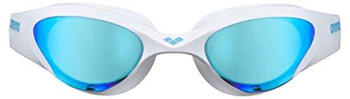 ARENA Gafas The One Mask Natación, Unisex Adulto, Azul/Blanco, Talla Única