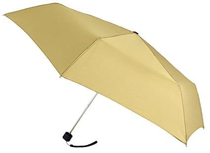 Paraguas de Mujer de la Marca VOGUE con PROTECCIÓN Solar. Ultra Ligero, sólo Pesa 151 gr. ANTIVIENTO y con Acabado TEFLÓN Que repele el Agua. Delgado.