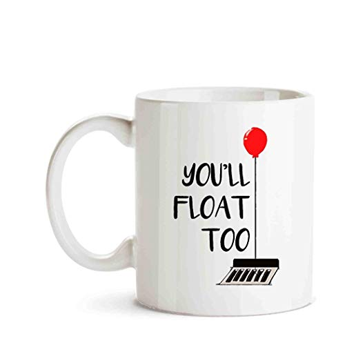 IT You'll Float Too Horror Halloween T Red Balloon Tee -