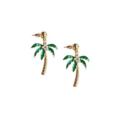 Tree Cottage - Tropical Palm Tree Earrings