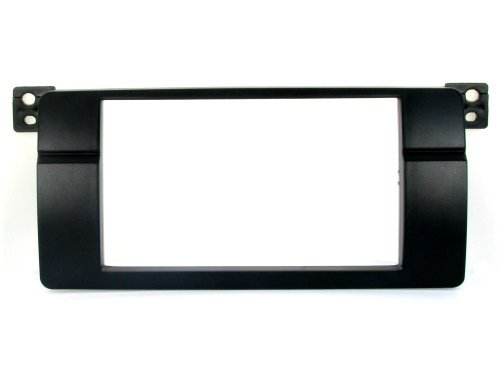 Bmw Dash Navigation (BMW E46 3 Series Double Din Radio Stereo Installation dash kit Bezel 97 98 99 00 01 02 03 04 05)