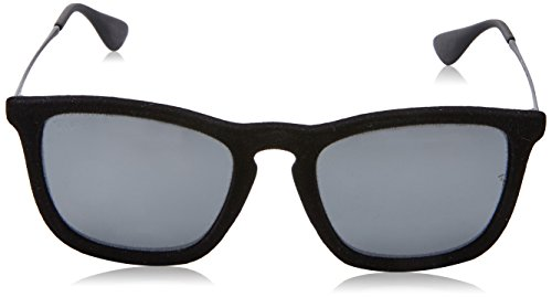 18 54 Unisex Black Gafas Ban Green Gunmetal amp; Mirror Sol Ray Negro 145 RB4187 Silver de qw6p04OX