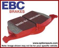 DP3689/2C Ebc 89-91 Audi 200 2.2 Turbo (Ate) Redstuff Front Brake Pads