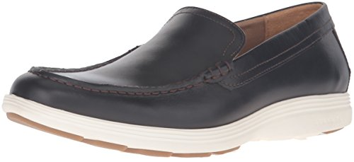 Cole Haan Men's Grand Tour Venetian Slip-On Loafer, Chestnut Leather/Ivory, 9.5 M US