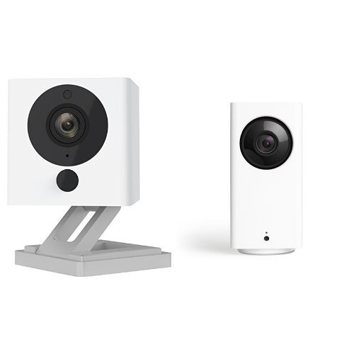 Wyze Cam Pan 1080p Pan/Tilt/Zoom with Wyze Cam v2 1080p Indoor Smart Home  Camera