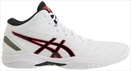 バスケットシューズ asics (アシックス) GELHOOP V11 WHITE/BLACK 1061A015 1905 バスケット 116.WHITE/BLACK 23.5cm B07SC2K8CX 116.WHITE/BLACK 23.5cm