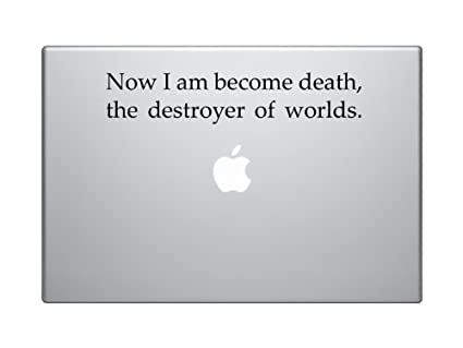 Amazon I Am Become Death Now The Destroyer Of Worlds Delectable Oppenheimer Quote