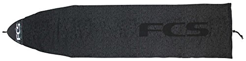 FCS Funboard Stretch Cover - Black - 7'