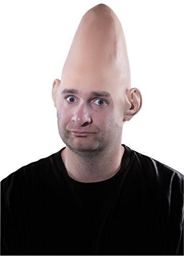 R68923 Thin Latex Conehead Cap -