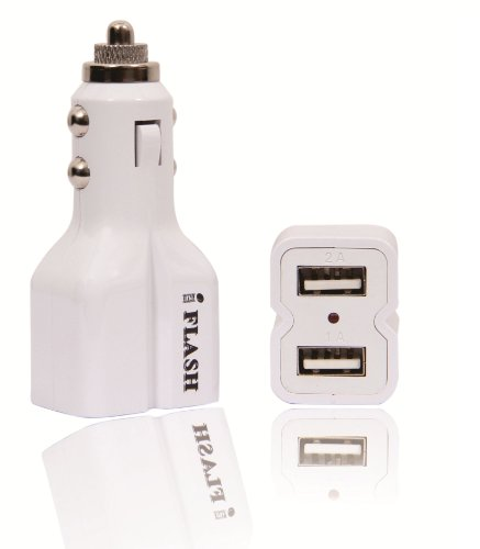 - iFlash Dual USB Port Car Charger for Apple iPad, iPad2, iPad3, iPhone 3GS / 4 / 4S, iPod Touch 4G, Nano 6th. Support all iPad, iPod, iPhone Models. Also Support Samsung Galaxy Moblie Phones, Motolola Droid Family, HTC, LG, Nokia