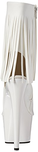 eu Uk Leather Adore Wht Faux 8 wht 41 Pleaser 1019 OqaBR