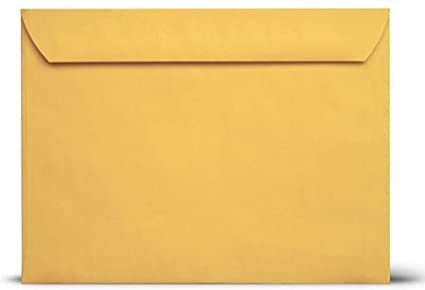 9x12 Booklet Envelopes 28Lb-Brown Kraft Open Side Envelopes 9 x 12-Large Envelopes 55/Pack Business Envelopes
