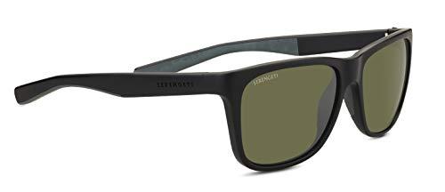 - Serengeti Classic Nylon Livio Sanded Black/Grey Polarized 555nm Sunglasses