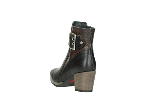 Brown Botas Wolky 8026 nbsp;Hopewell Alta 530 Media Leather Oiled WUp4pYaS