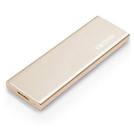 Kingshare Aluminio M.2 Sata a Disco Duro Externo USB 3.0 Carcasa ...
