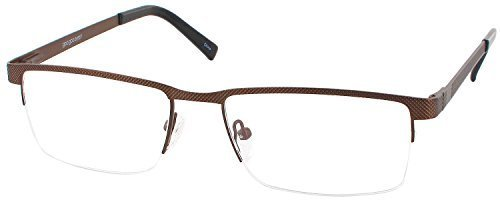 Goo Goo Eyes 846 Progressive No Line Bifocal Designer Reading Glasses, Morning Coffee Brown, +1.50 by Goo Goo Eyes
