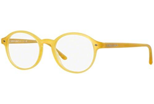 Eyeglasses Giorgio Armani AR7004 5006 yellow round frames Size - Armani Round Eyeglasses Giorgio