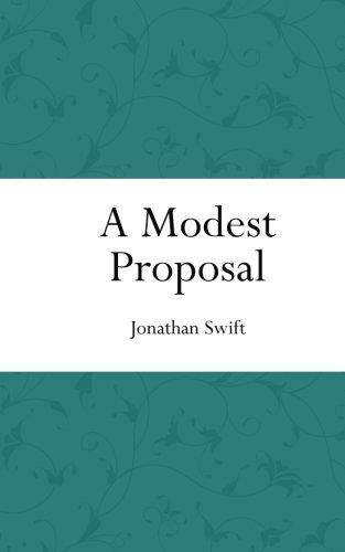 A Modest Proposal (Colorful Classics) ebook