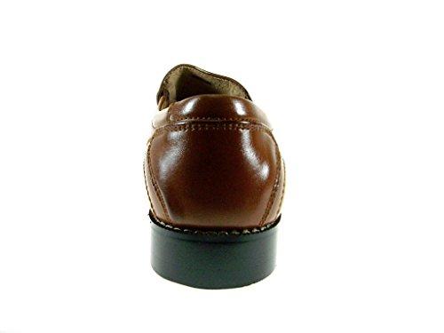 Majestueuze Heren 35187 Klassieke Jurk Instappers Schoenen Cognac