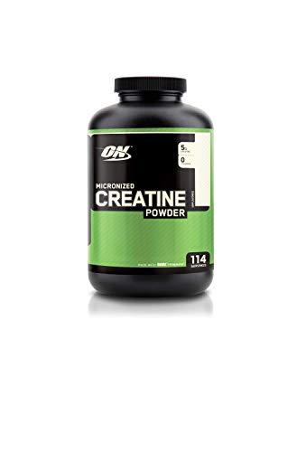 OPTIMUM NUTRITION Micronized Creatine Monohydrate Powder, Unflavored, 600g