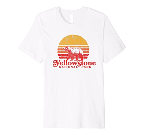 Bear Camp Shirt - Retro Yellowstone National Park Shirt - Bear & Vintage Sun