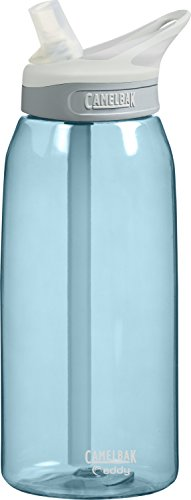 CamelBak Eddy Water Bottle, Sky Blue, 1-Liter by CamelBak