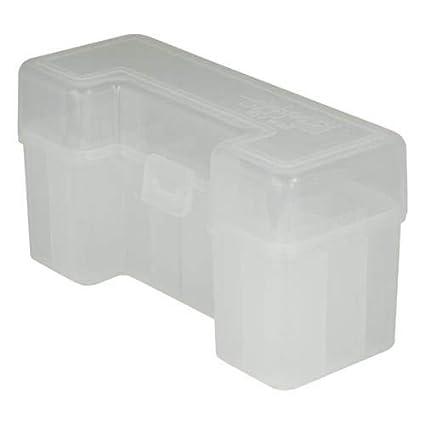 Amazon com : BERRY'S Plastic Ammo Box, Clear 20 Round  270