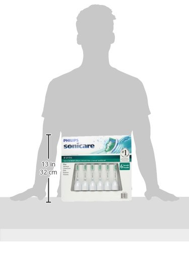 Philips Sonicare Toothbrush e Series Heads Fits: Advance, Cl
