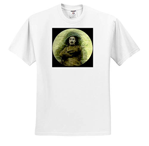 Scenes from The Past - Magic Lantern - Pirate Musketeer Victorian Actor Vintage 1890 Hand Tinted - T-Shirts - White Infant Lap-Shoulder Tee (24M) (ts_301290_69)