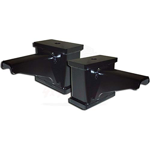 (ICON 6 inch Lift Fabricated Blocks w/Built in Bump Stop for Ford F-250 Super Duty 4WD 1999)