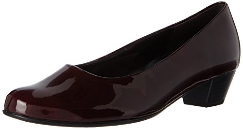 Red Toe Heels Basic Merlot Grey Women's Comfort 95 Closed 95 Gabor 0TIw0
