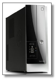 HP Pavilion Slimline Desktop (Intel Quad-Core Processor up to 2.66GHz, 8G DDR3 Memory, 1TB HDD)(Certified Refurbished)