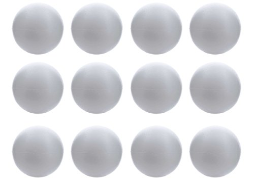 - Smooth Foam Balls for Arts & Crafts Floral Wedding Decor Science Modeling and School Projects (4