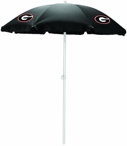 NCAA Georgia Bulldogs Portable Sunshade Umbrella [並行輸入品]