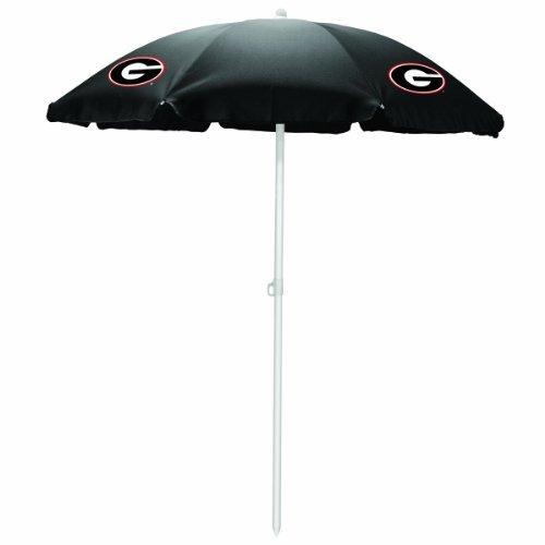 NCAA Georgia Bulldogs Portable Sunshade Umbrella by Picnic Time by PICNIC TIME