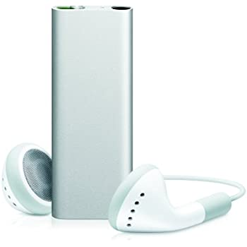 Apple iPod shuffle 4 GB Silver (3rd Generation)  (Discontinued by Manufacturer)
