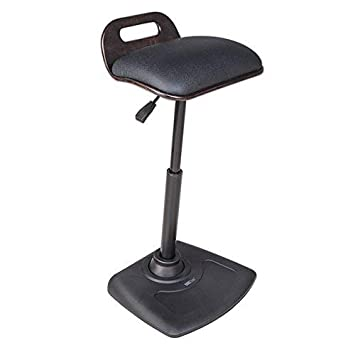VARIDESK – Adjustable Standing Desk Chair – VARIChair Pro – Black