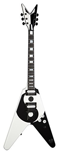 Dean MS YINYANG Michael Schenker Solid-Body Electric Guitar, Yin Yang