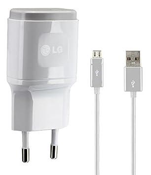 LG Original de Carga/Cable de Datos 2.0 USB Fuente 1,8 a, 1800 mAh Cargador del Cargador Cable Travel Charger lglw1 de Micro USB para G2/G3/G4/G5 ...