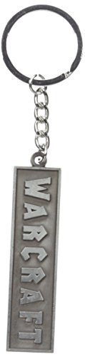 Warcraft Men's Movie Logo Metal Keychain