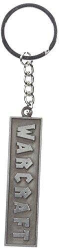Warcraft Men's Movie Logo Metal Keychain