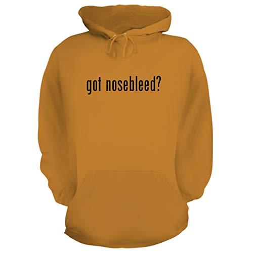 BH Cool Designs got Nosebleed? - Graphic Hoodie Sweatshirt, Gold, XX-Large