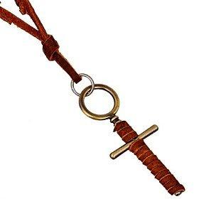 Mem Pc (FLOW ZIG Retro 44cm Mem's Multicolor Leather Necklaces(1 Pc))