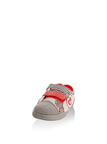 Chaussures de sport pour Fille DISNEY 2303-635 GRIS-ROJO