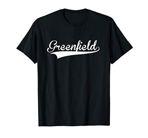 GREENFIELD Baseball Softball Styled T-Shirt -