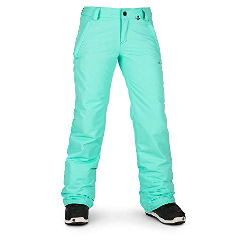 - Volcom Women's Frochickie Insulated Lined Snow Pant, Jade, Medium