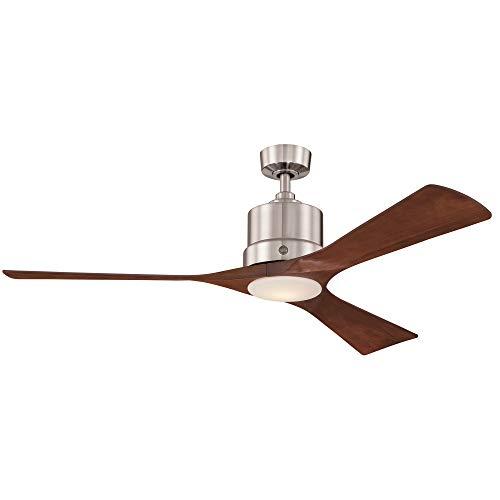 GE Phantom 54 in. Brushed Nickel Indoor LED Ceiling Fan