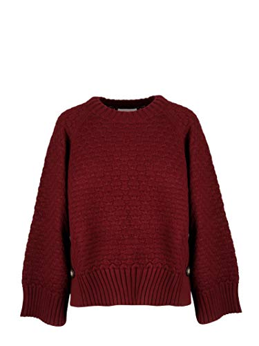 Cotone Donna Chs18amp1451056a Bordeaux See Maglione By Chloé qvwnOXa