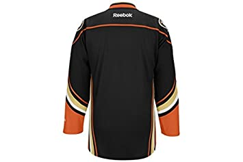e3255935ddf Image Unavailable. Image not available for. Colour  Reebok Premier Senior NHL  Hockey Jersey - Anaheim Ducks Black
