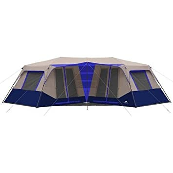 Ozark Trail 25u0027 x 12u0027 6u0026quot; 10 Person Instant Double ...  sc 1 st  Amazon.com : ozark trail tents 10 person - memphite.com